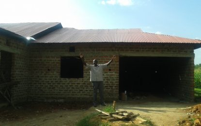 From Kenya – Discipleship Center and Maize Field